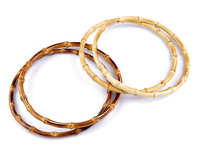 Bambusové uchá na tašky Ø20 cm