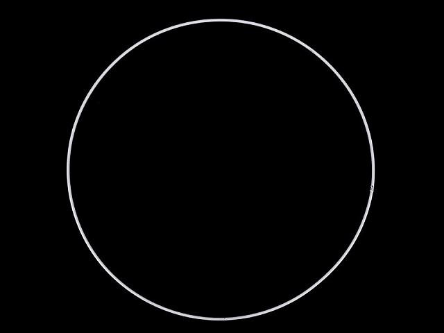 Kovový kruh na lapač snov / na dekorovanie Ø30 cm
