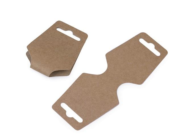 Karta na zavesenie tovaru 55x150 mm papierová