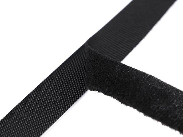 Nízkoprofilový suchý zips strihaný 2x20 cm jemný