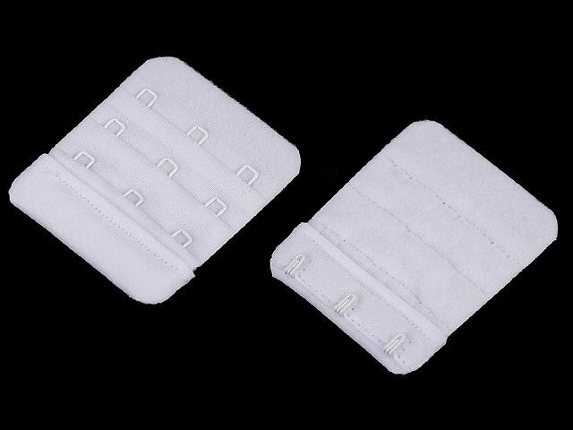 Predĺženie obvodu podprsenky bez gumy šírka 50 mm trojradová