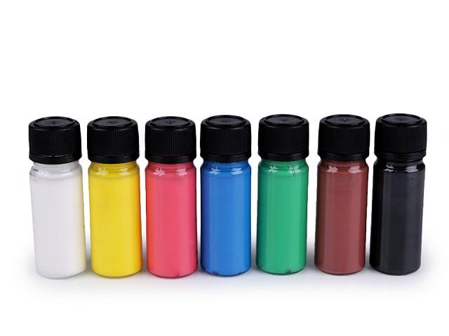 Sada barev na textil Art e Miss; na tmavý textil, neon, metalický