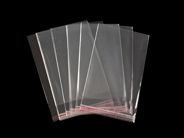 Celofánové sáčky s lepiacou lištou 7x10 cm