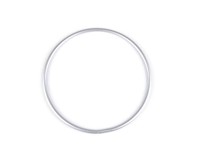 Kovový kruh na lapač snů / k dekorování Ø15 cm