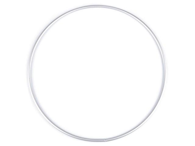 Kovový kruh na lapač snov / na dekorovanie  Ø25 cm
