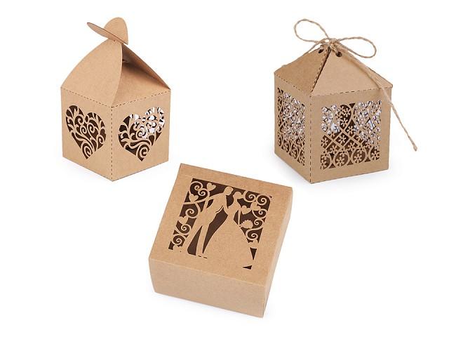Pudełeczko papierowe natural