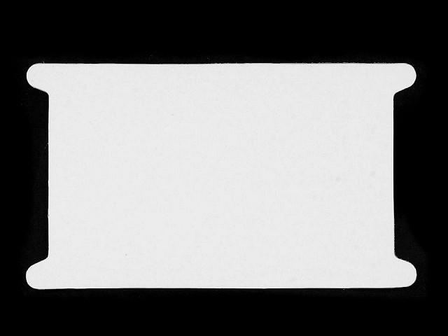 Plastová karta s výrezom 12,6x22,7 cm