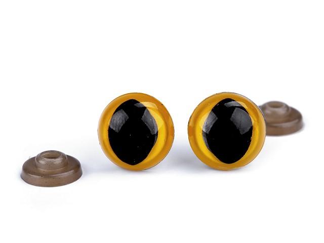 Bezpečnostní oči kočičí Ø14 mm