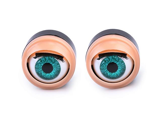 Žmurkajúce oči Ø17 mm