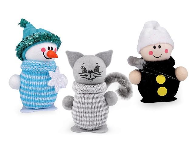 Ihelníček snehuliak, kominár, mačka