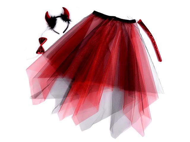 Karnevalový kostým čertice dívčí