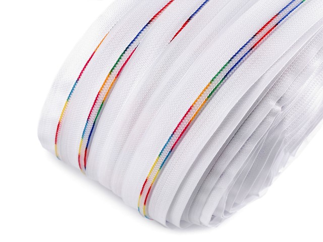 Dúhový zips špirálový šírka 6 mm