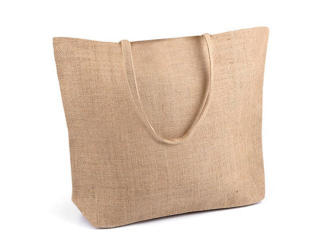 Jutová taška na dozdobenie 35x45 cm