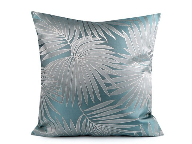 Obliečka na vankúš palmový list 44x44 cm