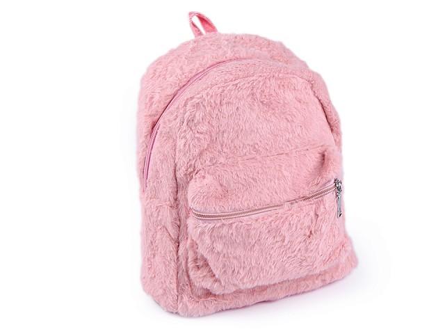 Kožešinový batoh 21x24 cm