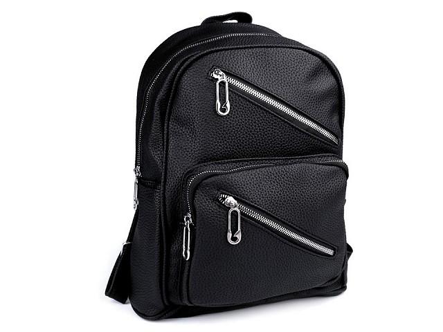 Batoh s vreckami jednofarebný