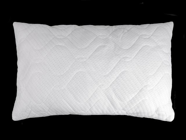 Polštář na spaní aloe vera a stříbro 40x60 cm