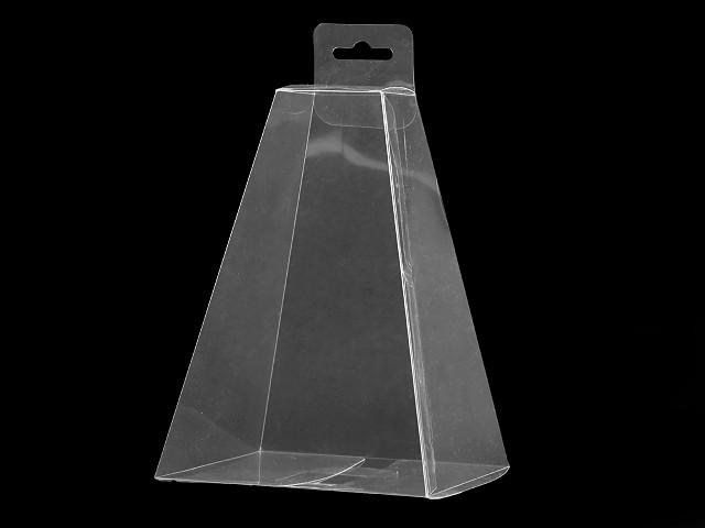 Plastová krabička k zavěšení pyramida