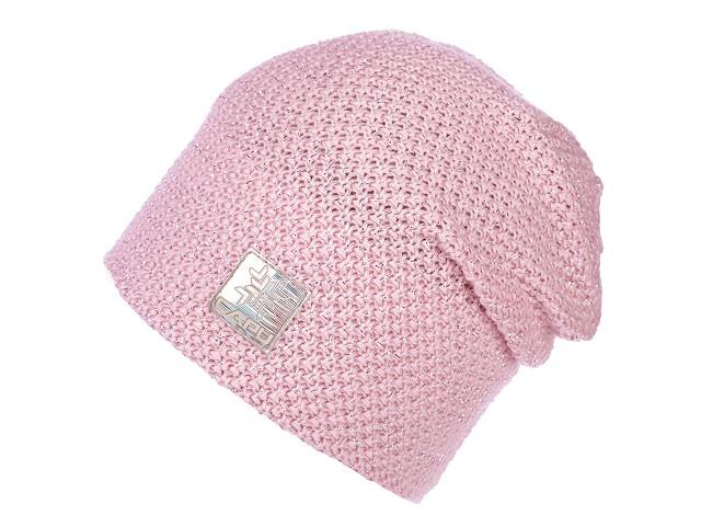 Dámska čiapka s lurexom