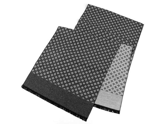 Pánsky zimný šál 30x180 cm