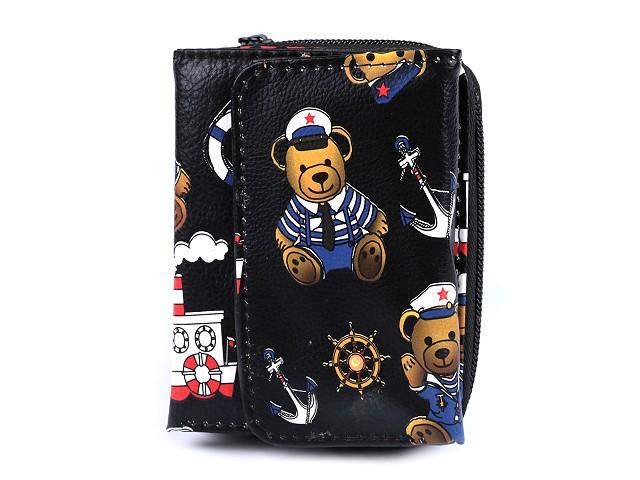 Peňaženka medvedík námorník