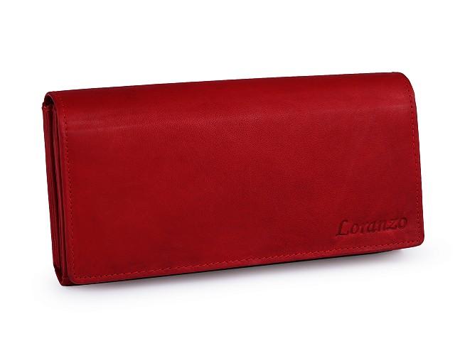 Dámská peněženka kožená 9x18 cm