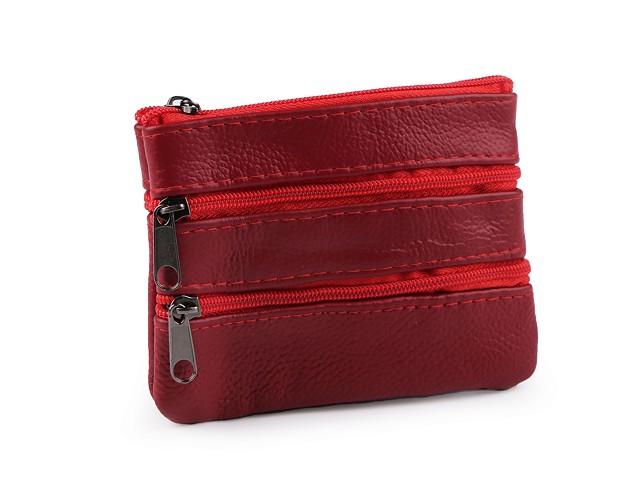 Port chei / portofel mic, piele 9x12 cm