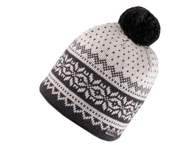 Detská zimná čiapka s nórskym vzorom