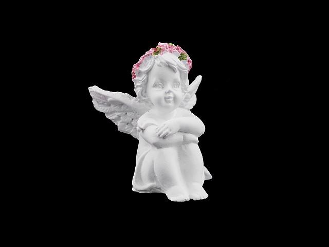 Dekorácia anjel - malý