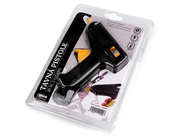 Pistol de lipit cu silicon - set