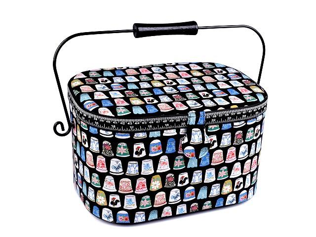 Coș pentru accesori de cusut