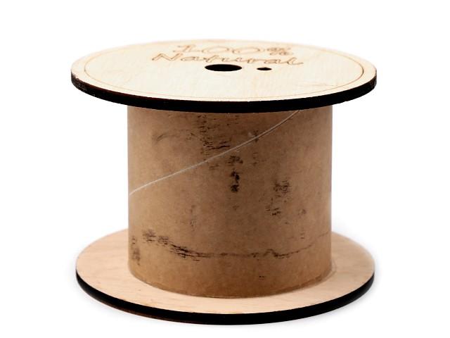 Természetes orsó 7,8x11 cm