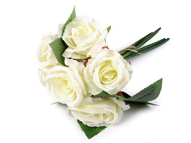 Buchet artificial de trandafiri